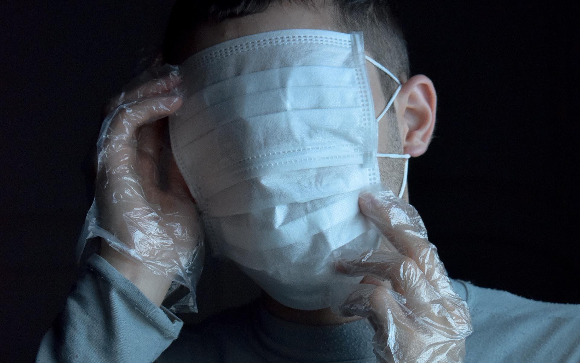 face with mask